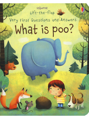 Lift-the-flap. First questions and answers. What is poo? Ediz. a colori