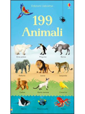 199 animali. Ediz. illustrata