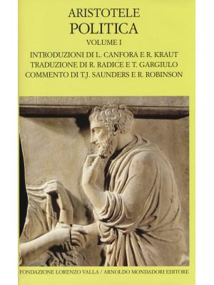 Politica. Testo greco a fronte. Vol. 1: Libri I-IV
