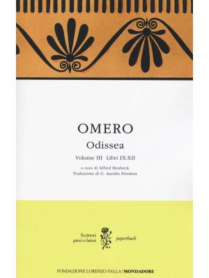 Odissea. Testo greco a fronte. Vol. 3: Libri IX-XII