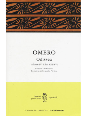 Odissea. Testo greco a fronte. Vol. 4: Libri XIII-XVI