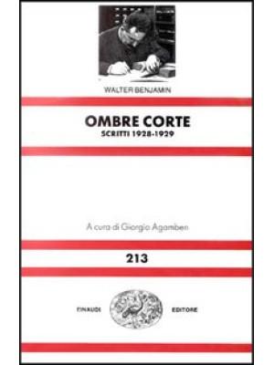 Ombre corte. Scritti (1928-1929)