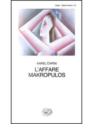 L'affare Makropulos