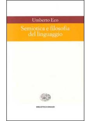 Semiotica e filosofia del linguaggio