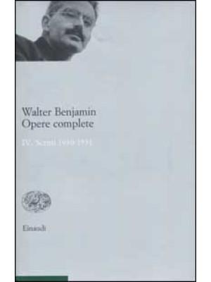 Opere complete. Vol. 4: Scritti 1930-1931