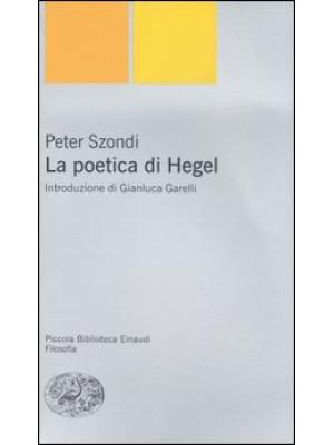 La poetica di Hegel