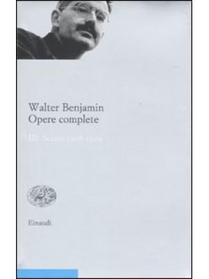 Opere complete. Vol. 3: Scritti 1928-1929