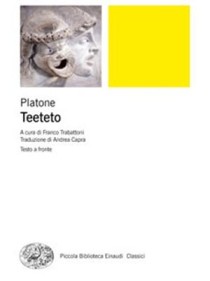 Teeteto. Testo greco a fronte. Ediz. bilingue