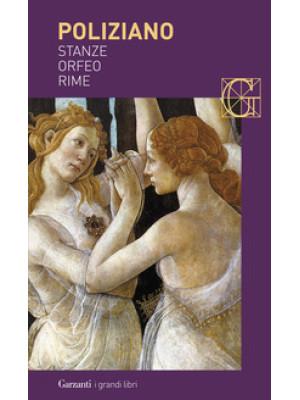 Stanze-Orfeo-Rime
