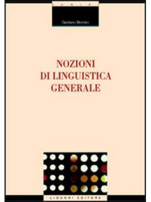Nozioni di linguistica generale