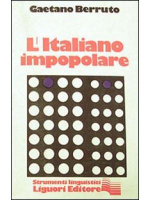 L'italiano impopolare