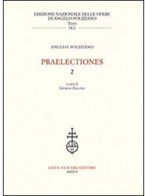 Praelectiones. Vol. 2