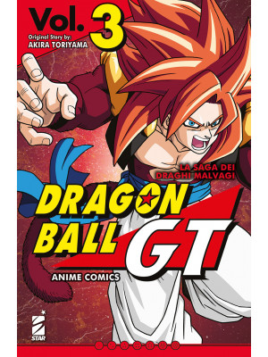 La saga dei draghi malvagi. Dragon Ball GT. Anime comics. Vol. 3