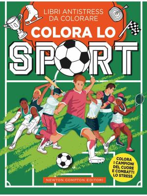 Colora lo sport. Libri antistress da colorare