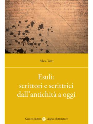 Esuli: scrittori e scrittrici dall'antichità