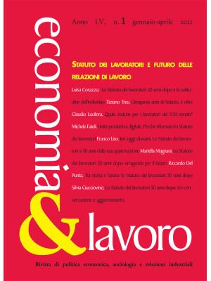 Economia & lavoro (2021). Vol. 1