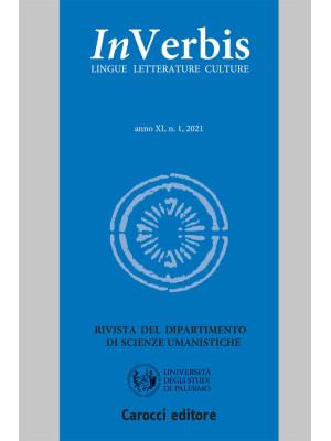 Inverbis. Lingue letterature culture (2021). Vol. 1