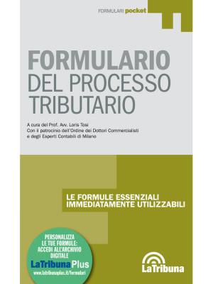 Formulario del processo tributario
