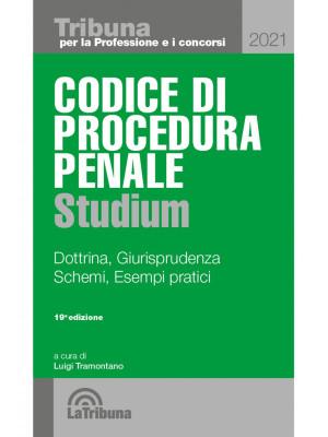 Codice di procedura penale Studium. Dottrina, giurisprudenza, schemi, esempi pratici