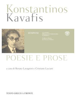 Poesie e prose. Testo greco a fronte