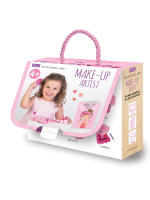 Make-up artist. Giochi in legno. Ediz. a colori. Con Giocattolo