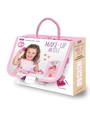 Make-up artist. Wooden toys. Ediz. a colori. Con Giocattolo