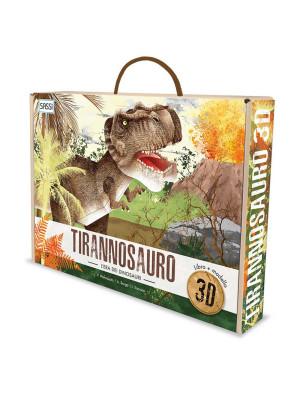 L'era dei dinosauri. Il tirannosauro 3D. Con Giocattolo