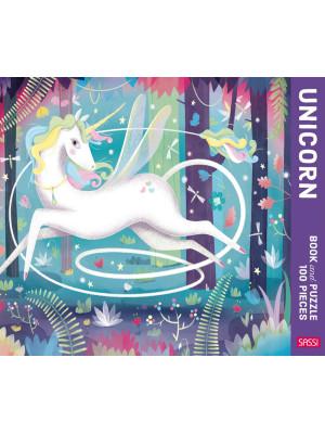 The Unicorn. Puzzle 100 piece. Ediz. a colori. Con puzzle