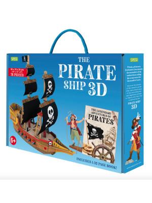 The Legendary Adventures of Pirates. 3D Pirate Ship. Ediz. a colori. Con Giocattolo