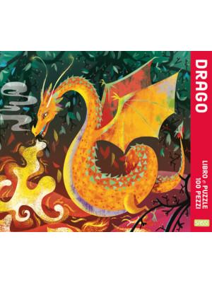 Drago. Puzzle 100 pezzi. Ediz. a colori. Con puzzle