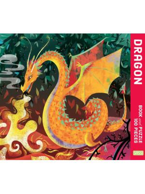 The dragon. Puzzle 100 piece. Ediz. a colori. Con puzzle
