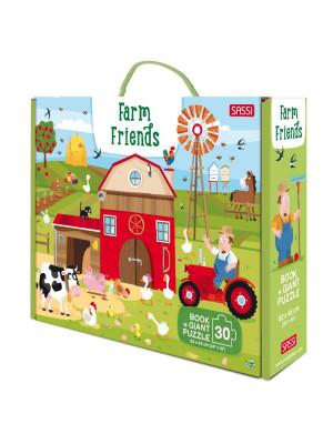 Farm friends. Ediz. a colori. Con puzzle