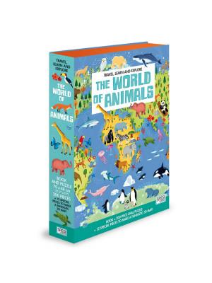 The world of animals. Travel, learn and explore. Ediz. a colori