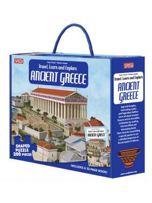 Travel, learn and explore. Ancient greece. Ediz. a colori. Con puzzle