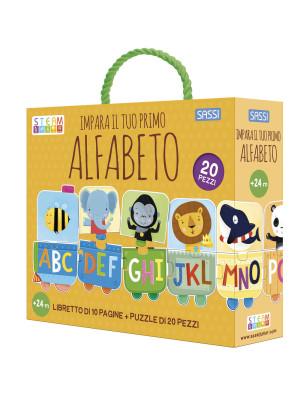 Impara il tuo primo alfabeto. Ediz. a colori. Con puzzle