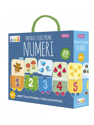 Impara i tuoi primi numeri. Ediz. a colori. Con puzzle