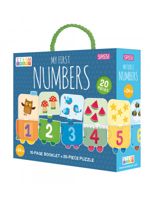 My First Numbers. Ediz. a colori. Con puzzle