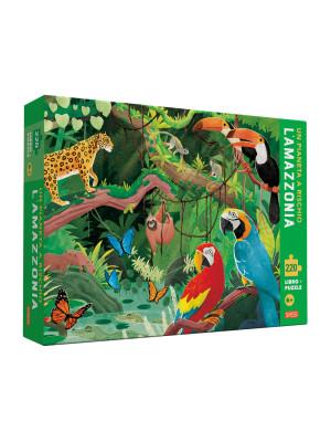 Un pianeta a rischio. L'Amazzonia. Ediz. a colori. Con puzzle