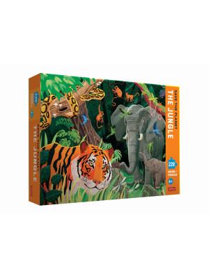 Save the planet. The jungle. 220 piece puzzle. Con puzzle