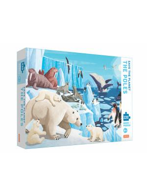 Save the planet. The Poles. Ediz. a colori. Con puzzle