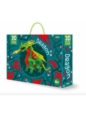3D dragon. Ediz. illustrata. Con Giocattolo