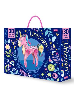 Unicorn 3D. Ediz. a colori. Con gadget
