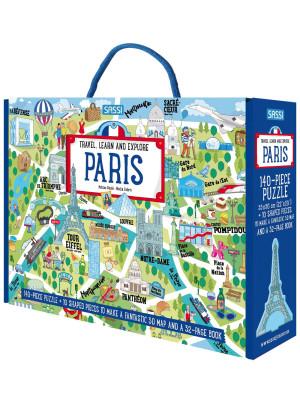Paris. Travel, learn and explore. Ediz. a colori. Con puzzle