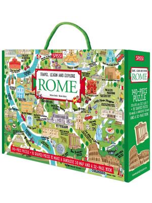 Rome. Travel, learn, explore. Ediz. a colori. Con puzzle