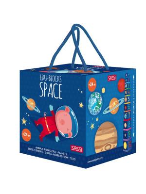 Space. Edu-blocks. Ediz. a colori. Con gadget
