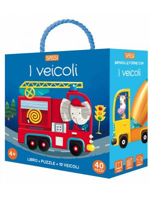 I veicoli. Q-box. Ediz. a colori. Con puzzle