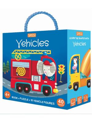 Vehicles. Q-box. Ediz. a colori. Con puzzle