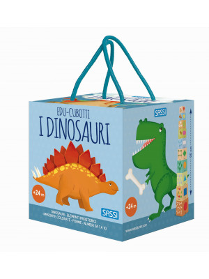I dinosauri. Edu-cubotti. Ediz. a colori. Con gadget