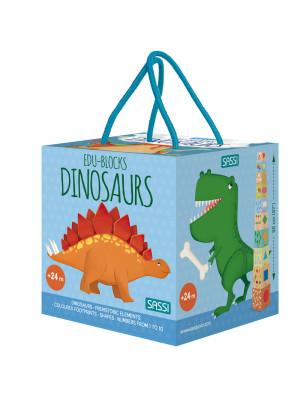 Dinosaurs. Edu-blocks. Ediz. a colori. Con gadget