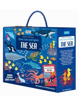 The sea. Travel, learn, explore. Ediz. a colori. Con puzzle